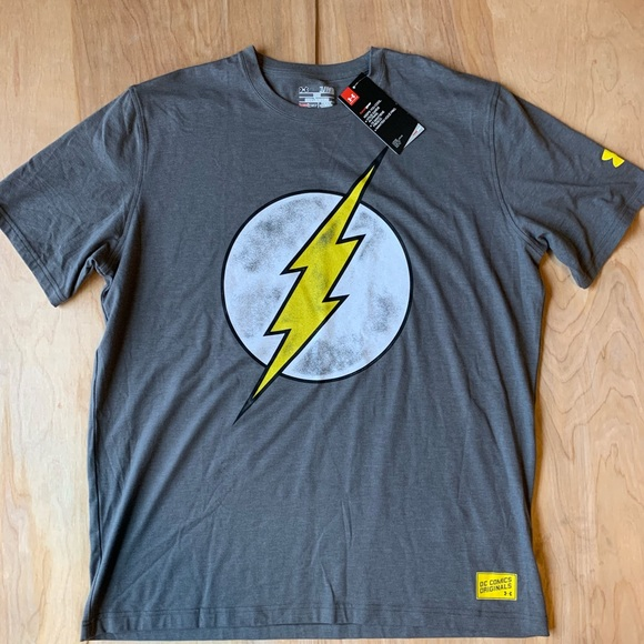 siempre popular grandes variedades verdadero negocio Under Armour Shirts   Retro Flash Dc Comics Shirt   Poshmark